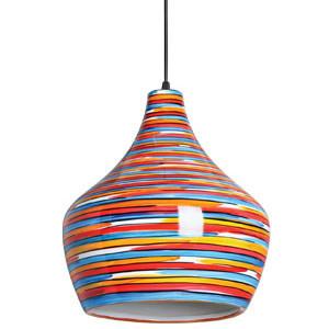 Luminária pendente em cerâmica