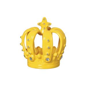 Coroa Decorada em Cerâmica