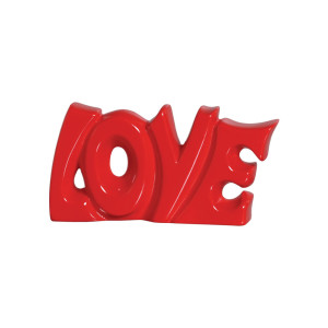 Love Cofre em Cerâmica