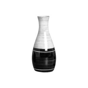 Vaso Garrafa Decorativa em Cerâmica