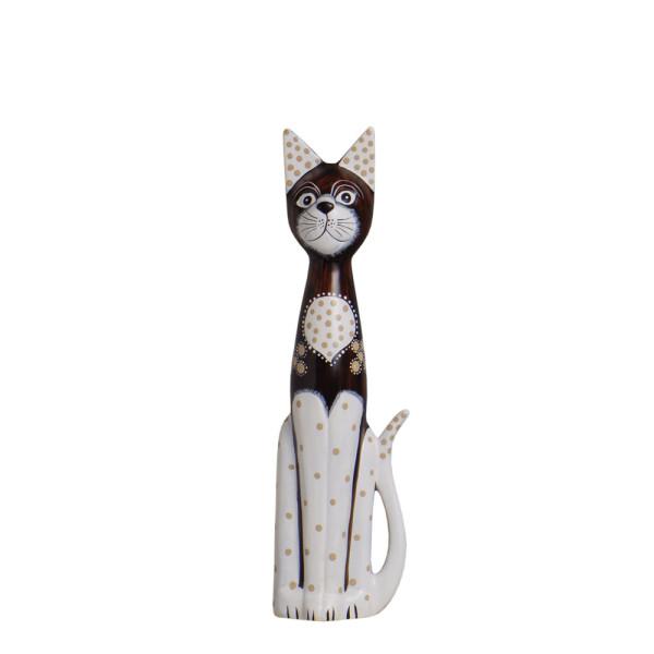Estatueta de Chão Gato Decorativo P