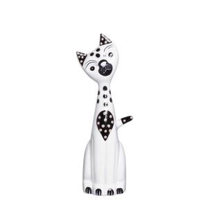 Gato de Cerâmica Decorativa
