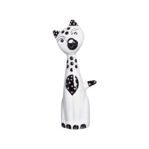 Gato Estatueta Cerâmica Decorativa