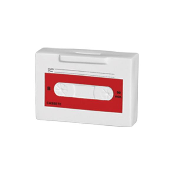 Cofre Fita Cassete de Cerâmica