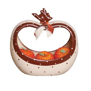 Fruteira Decorada em Cerâmica