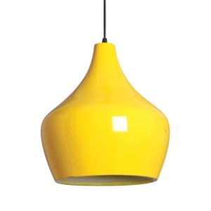 Luminária Pendente Amarela