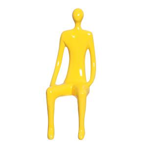 Homem Estatueta em Cerâmica