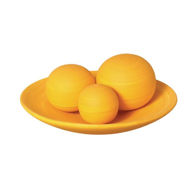 Esferas Amarelas Decorativa