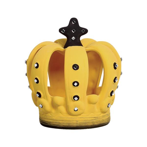 Coroa Decorativa Amarela