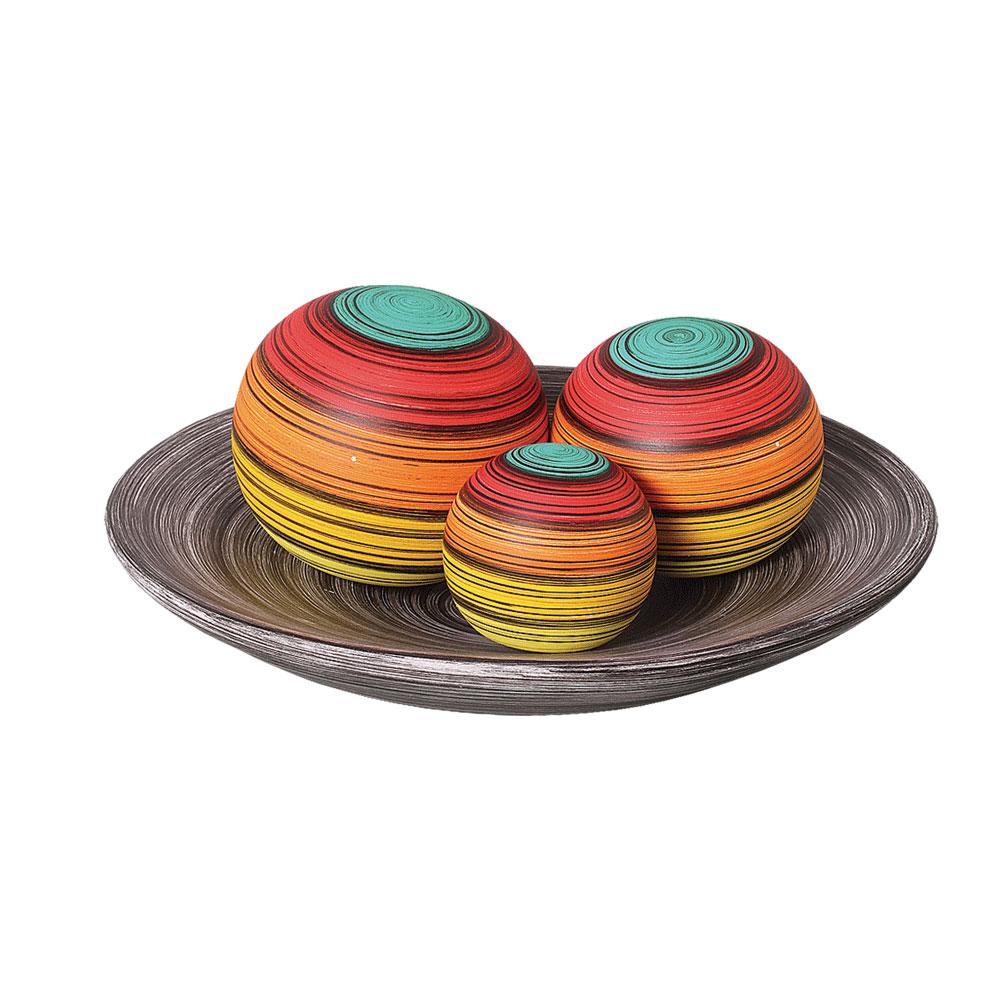 Prato-decorativo-com-bolas-para-centro-de-mesa-em-salas