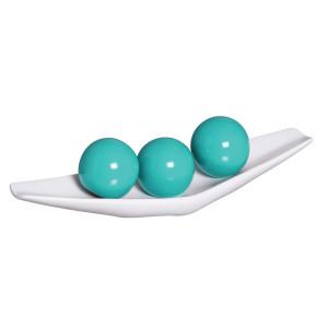 enfeite-para-mesa-com-esferas-verde-e-branco