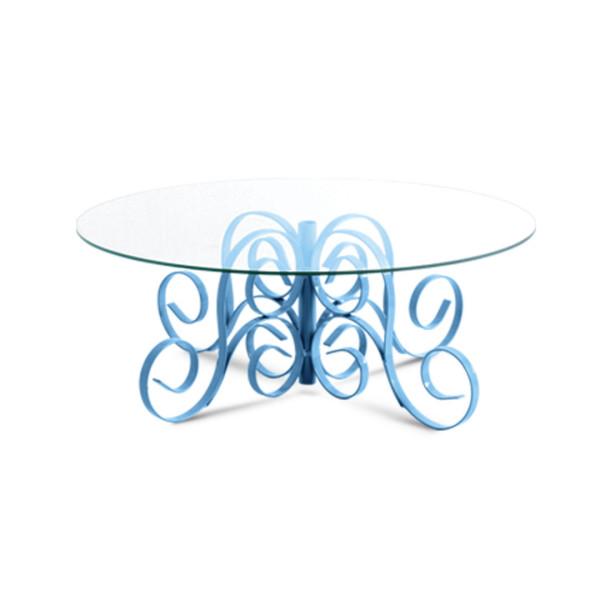 Doceira Azul Decorativa em Ferro